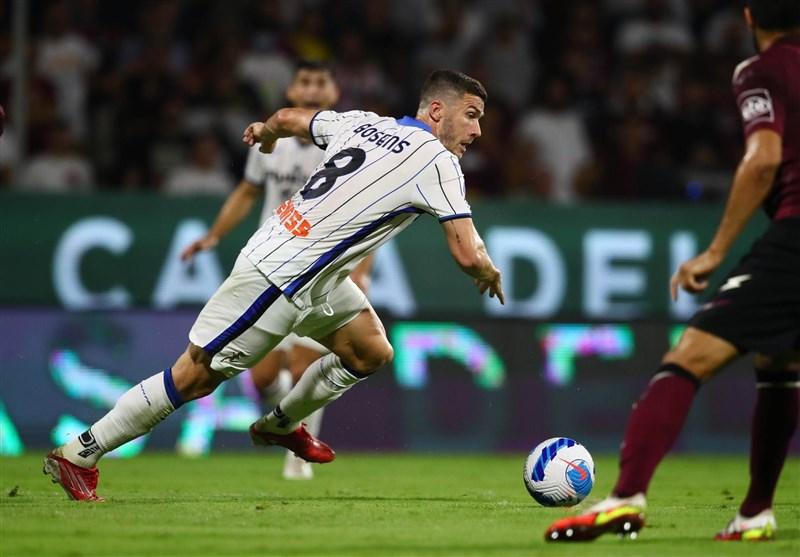 سری آ ایتالیا/ برد آتالانتا مقابل سالرنیتانا
