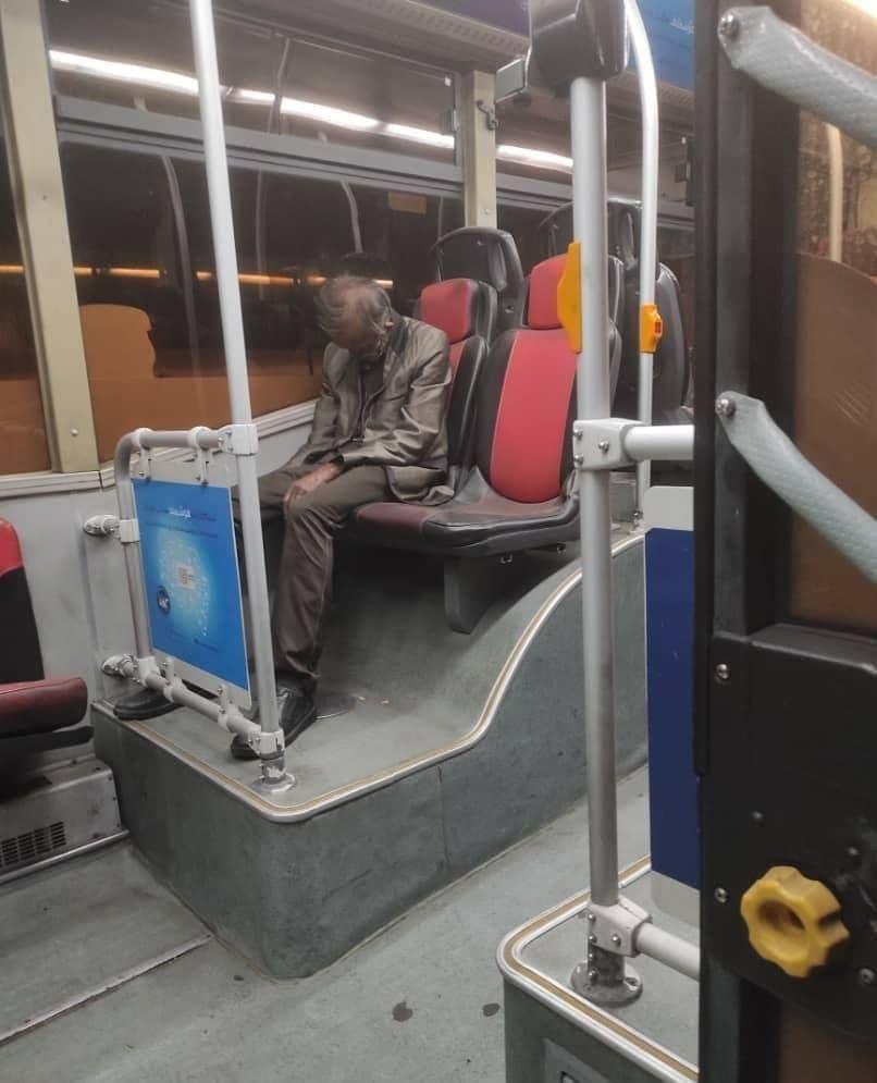ماجراي کشف جسد در اتوبوس پايتخت چيست؟