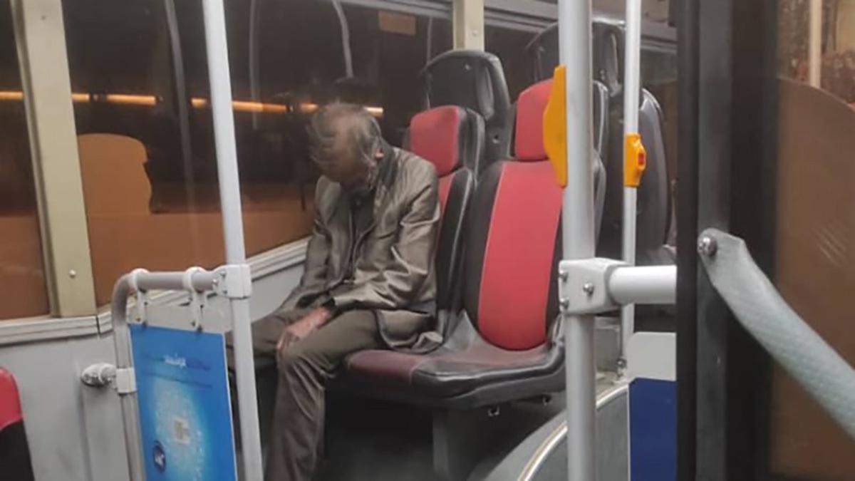 ماجراي کشف جسد در اتوبوس پايتخت