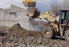 ساختوسازهای غیر مجاز در حومه باسمنج شدت گرفت