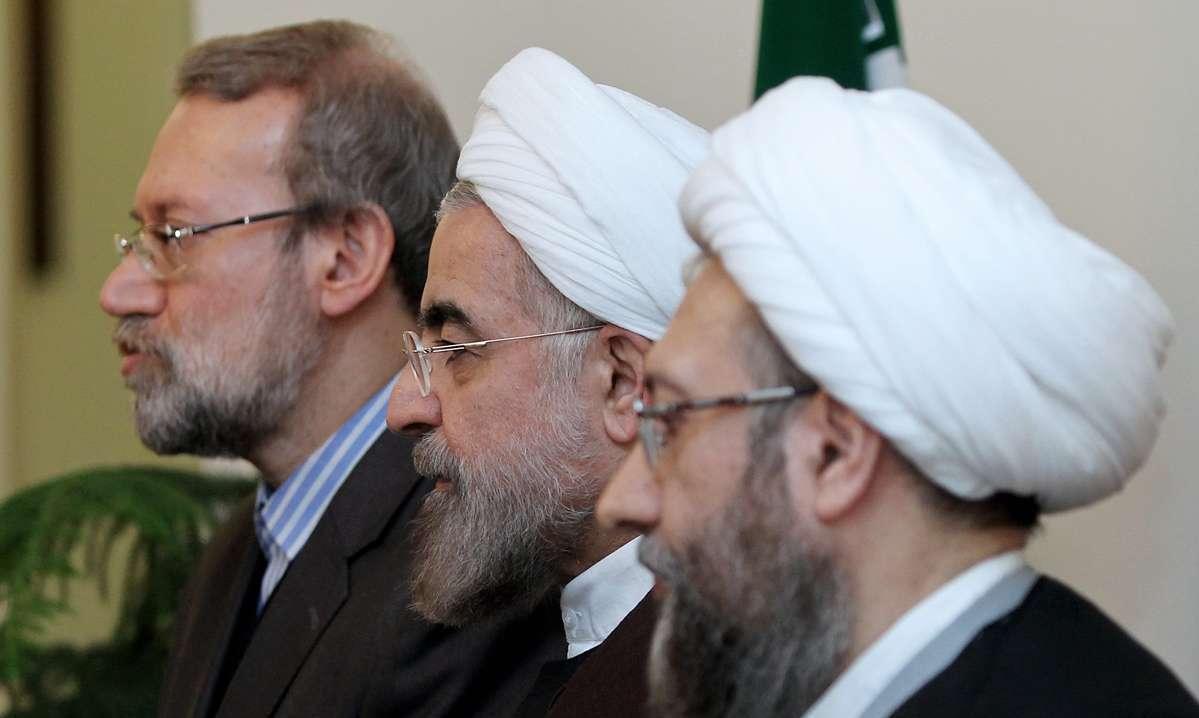 نظر داريوش قنبري درباره سرنوشت روحاني و برادران لاريجاني