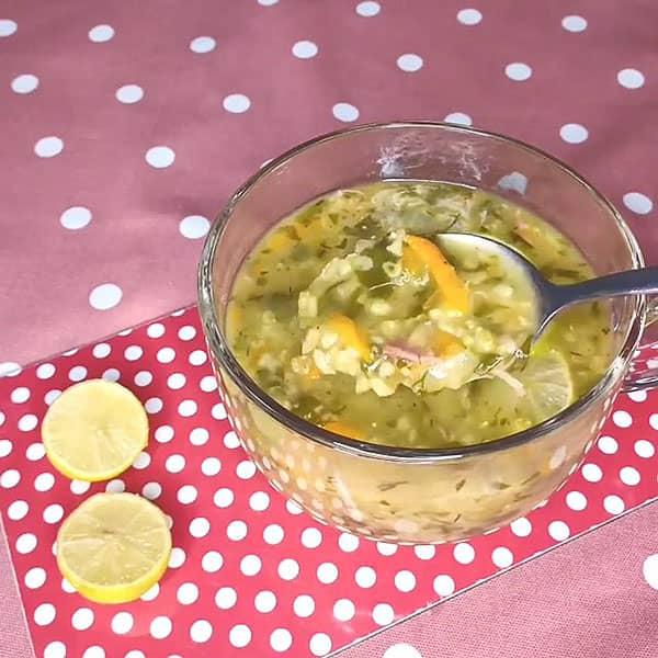 طرز تهيه سوپ ماهيچه ساده و بسيار مقوي براي تقويت بدن