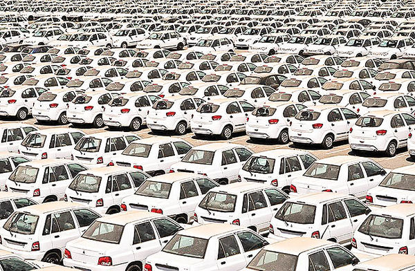 قيمت انواع خودروهاي سايپا در بازار