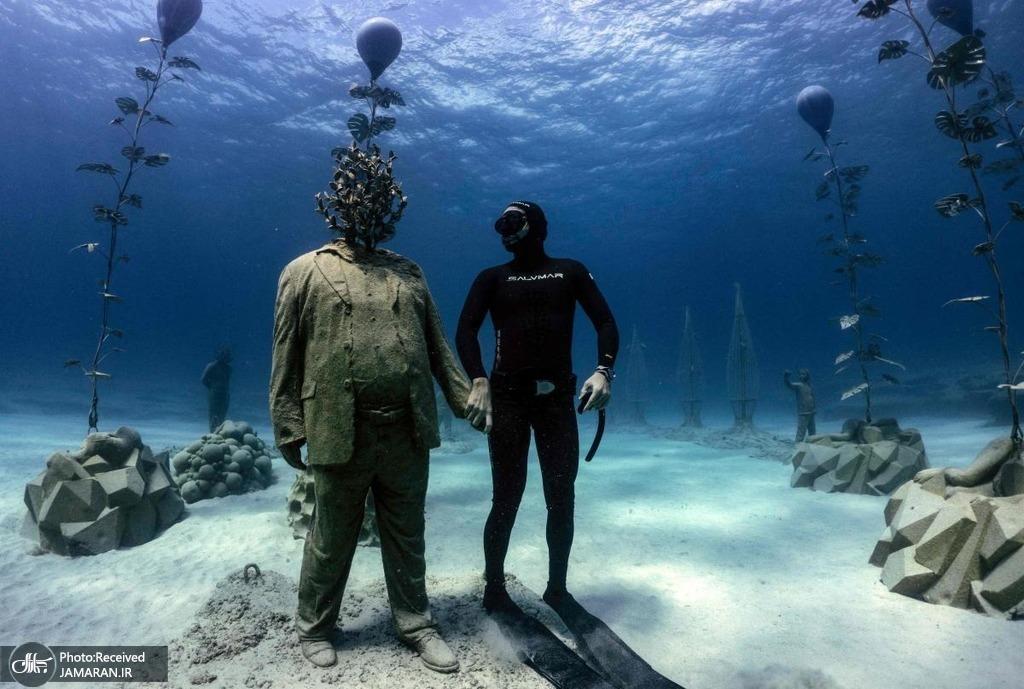 اولین موزه زیر آب در دریای مدیترانه
