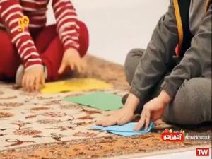 ایده بازی «موشک فوتی» با کودکان