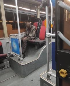 ماجرای کشف جسد در اتوبوس پایتخت چیست؟