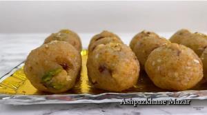 آموزش تهیه شیرینی هندی «لدوی»
