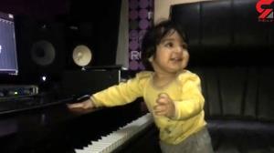 هیجان فرزند حبیب خزایی فر با موسیقی پدرش