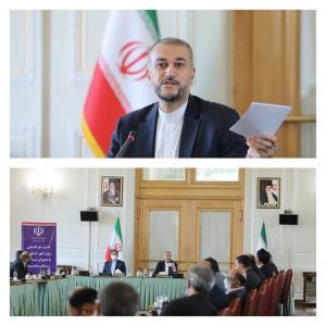 وزیر امور خارجه در جلسه تودیع و معارفه «عراقچی» و« باقری کنی » چه گفت؟