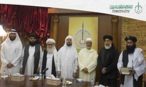 دیدار هیئت طالبان با