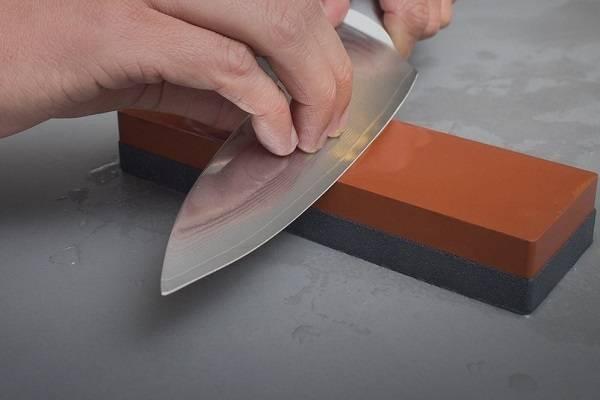 تيز کردن حرفه اي چاقو مثل قصاب ها