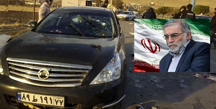 نحوه ترور شهید فخریزاده به روایت تصویر