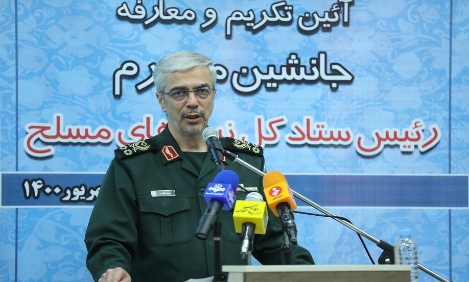 سرلشکر باقری: پایگاه «حریر» آمریکاییها محل توطئه علیه ایران است