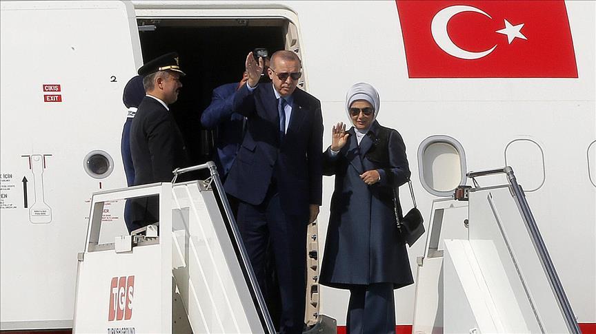 اردوغان عازم نیویورک شد