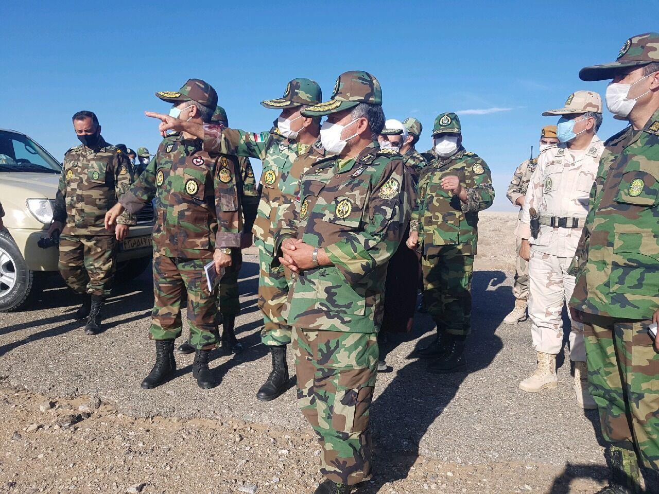 فرمانده ارتش در شمال شرق کشور: امنیت در مرزهای شرقی ایران برقرار است