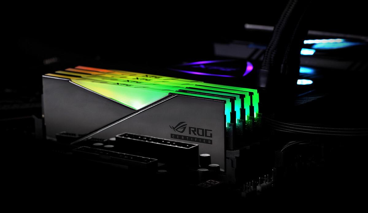 ADATA از رم SPECTRIX D50 DDR4 RGB با گواهی ROG رونمایی کرد