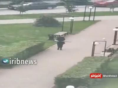 تصویر فرد ضارب در حادثه تیراندازی در دانشگاه روسیه
