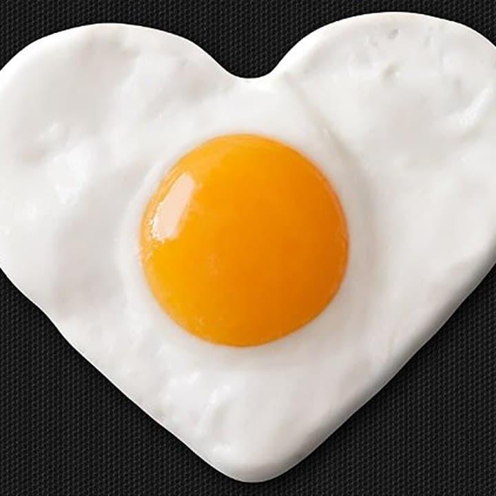 ترفند طبخ تخم مرغ به شيوهاي عاشقانه