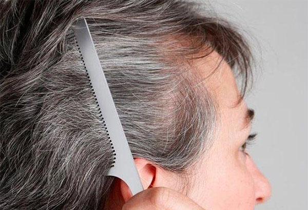 راهی موثر و طبیعی برای سیاه کردن مو سپید