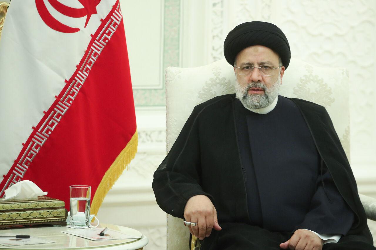 پیام تبریک رئیسی برای امیر نصیرزاده