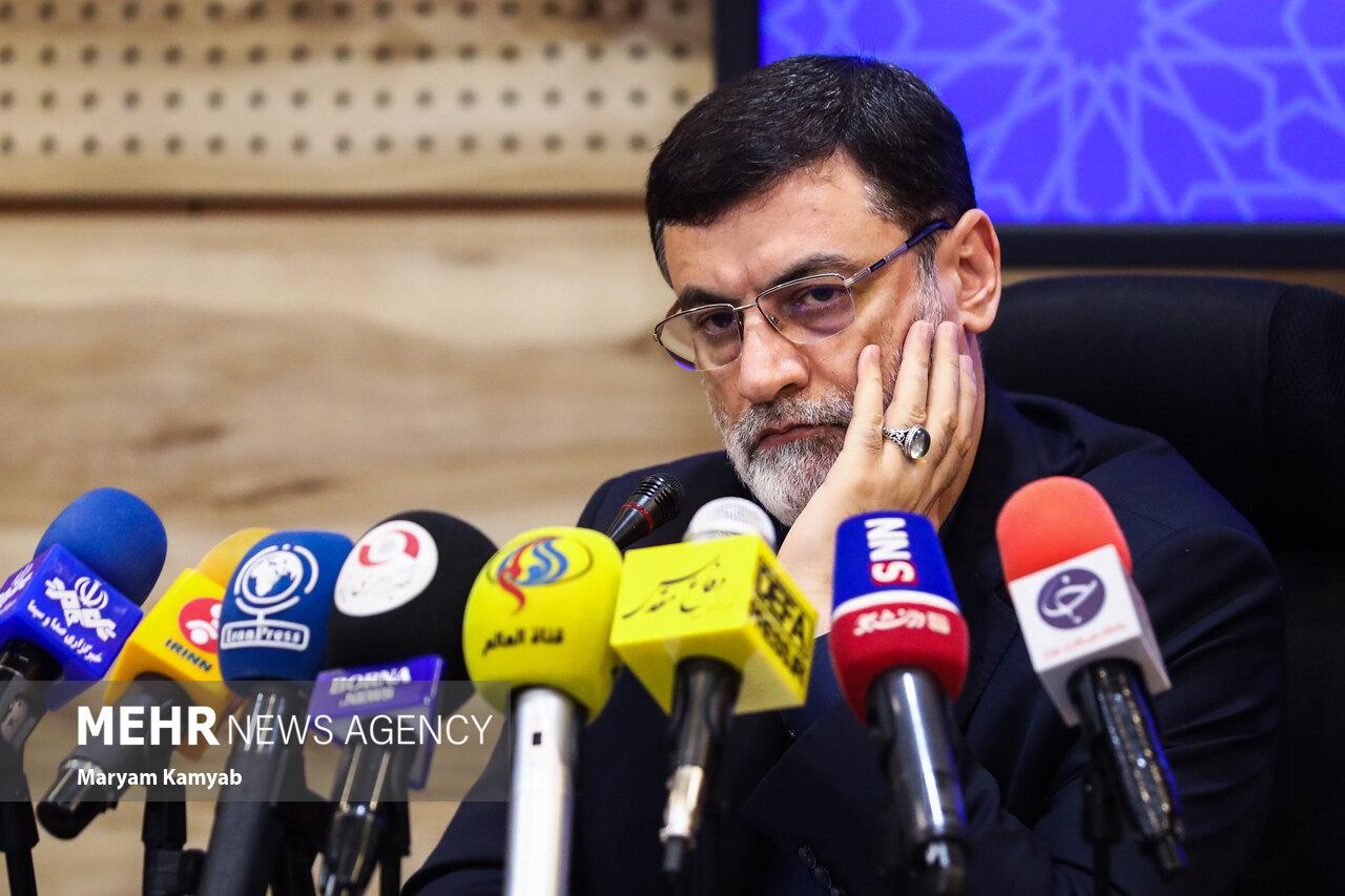 حاشیه های نشست خبری رئیس بنیاد شهید و امور ایثارگران