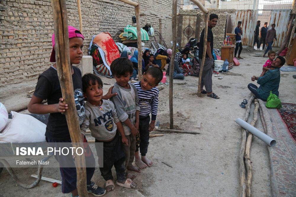 عکس/ وضعیت خانواده پرجمعیت مهاجرین افغان در حاشیه شهر اصفهان