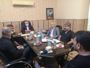 همکاری دوجانبه هیاتهای بوکس خوزستان و بصره عراق