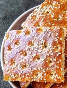 آموزش درست کردن «نان قندی» خوشمزه و پ�کی به روش شمالی