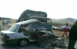 مرگ راننده جوان در محور بوکان به مهاباد