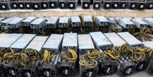 کشف ۱۳ دستگاه استخراج ارز دیجیتال در تاکستان