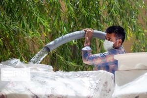 تنش آبی در ۲۳۱ روستای خوزستان برطرف شد
