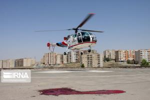 ۲ بالگرد اورژانس هوایی در جنوب سیستانوبلوچستان مستقر میشود