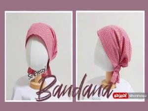 کلاه پارچه ای زیبا برای محافظت سر از سرمای پائیزی