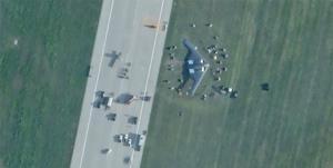 نیروی هوایی آمریکا سقوط بمب افکن بی-2 پنهانکار خود را تایید کرد