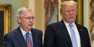 تحرکات ترامپ برای انتقامجویی از رهبر جمهوریخواهان سنا