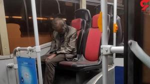 برملا شدن راز مرگ جنازه نشسته مرد تهرانی روی صندلی اتوبوس