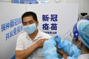 چین در جایگاه نخست بیشترین جمعیت واکسینه شده جهان علیه کرونا