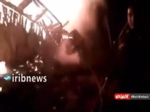 آتش سوزی مهیب در حومه پایتخت ترکیه