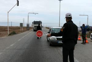 جریمه حدود ۱۲۰ هزار خودرو در ورودیهای مازندران