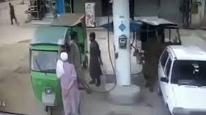 انفجار در پمپ گاز پاکستان