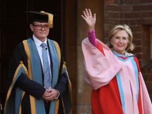 هیلاری کلینتون رئیس دانشگاه شد