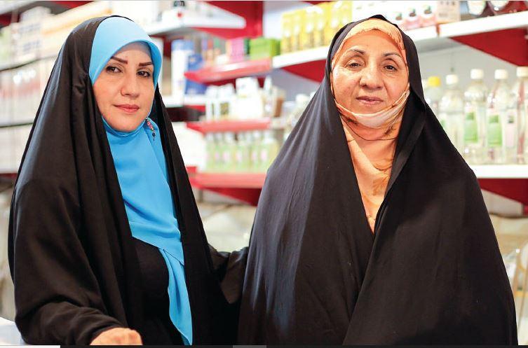 مادر و دختری که سال هاست در کنار یکدیگر کارآفرینی می کنند