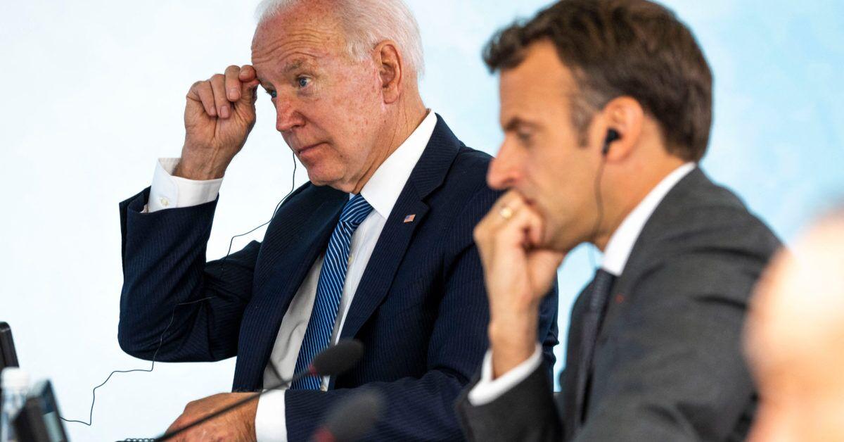 کاخ سفید: بایدن در روزهای آینده با مکرون گفت و گو میکند