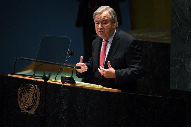 هفتادوششمین مجمع عمومی سازمان ملل با سخنرانی گوترش آغاز شد