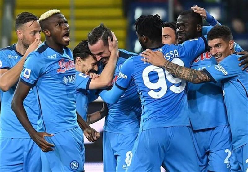 سری آ ایتالیا/ تاریخسازی ناپولی با پیروزی پرگل مقابل اودینزه