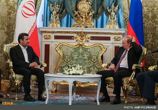 پرسش احمدینژاد از پوتین درباره طالبان