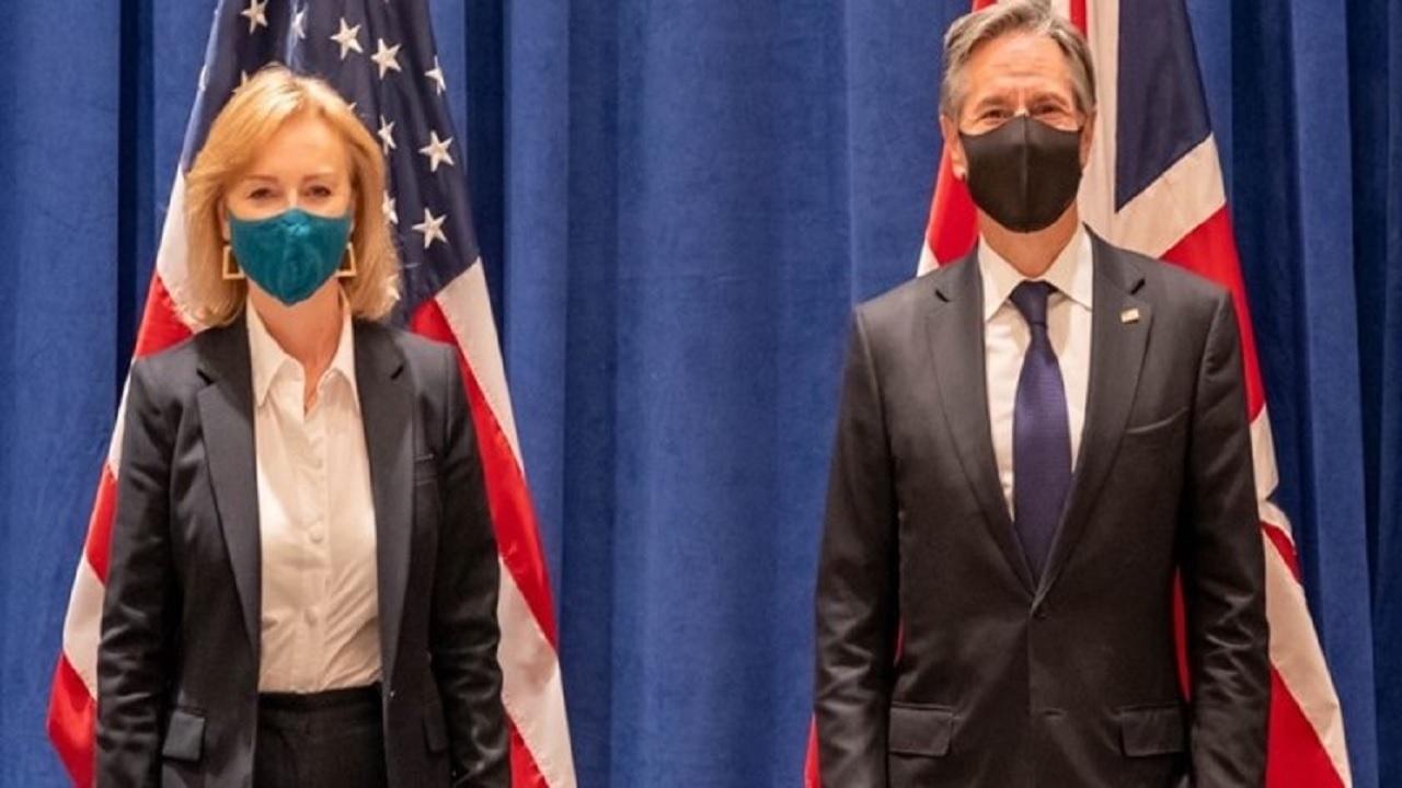 دیدار وزرای خارجه آمریکا و انگلیس در نیویورک
