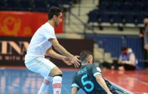 بازیکنی که بهخاطر حسین شمس مقابل آرژانتین بازی کرد