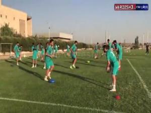 گوشههایی از تمرین پیشفصل تیم سپاهان