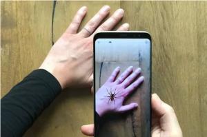 تولید اپلیکیشن برای مقابله با ترس از عنکبوت